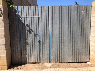 Puerta Garaje exterior Hierro