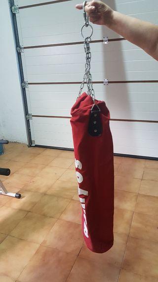 Sacos boxeo Decathlon + recambio