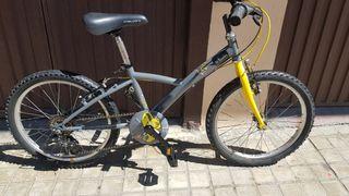 """bicicleta infantil ruedas de 20"""""""