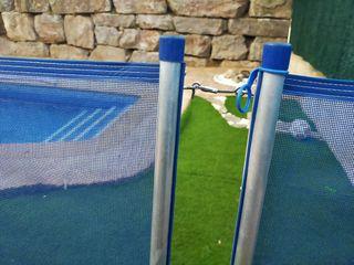 Valla piscina seguridad