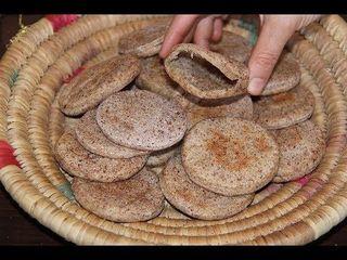 Casero Pan de pita integral con semillas