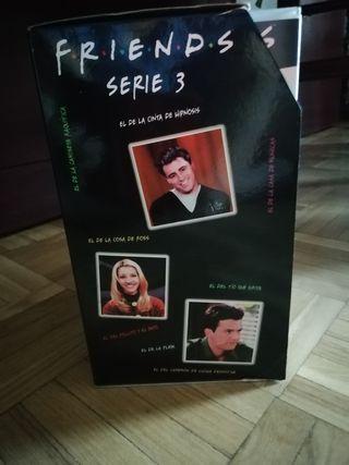 VHS Friends temporada 3.