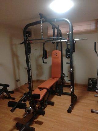 máquina gimnasio completa