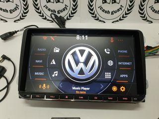 "Radio de coche Android 9"" Volkswagen golf"