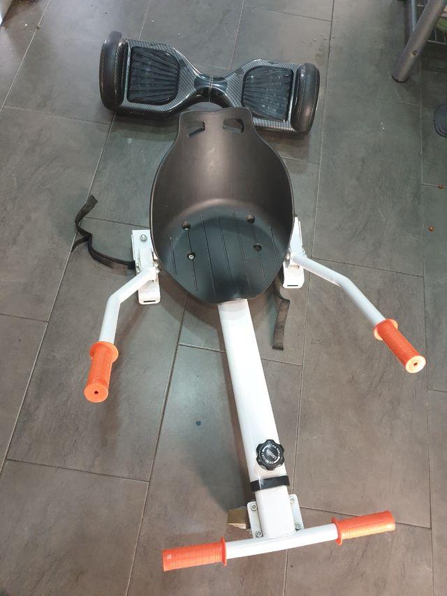Hoverboard Y Silla De Segunda Mano Por 50 En Barcelona En Wallapop