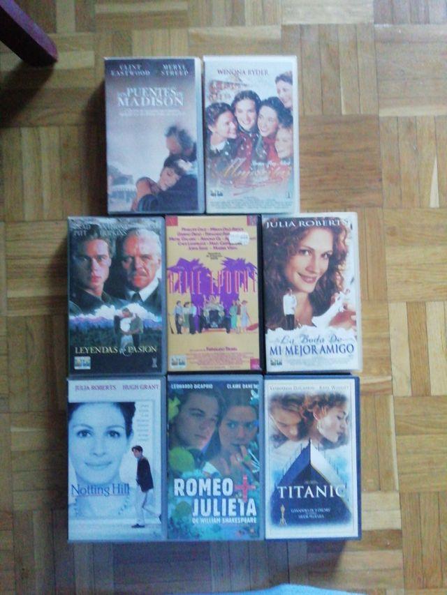 VHS. Películas Varias