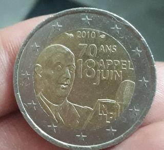 Moneda Conmemorativa Francia 2010