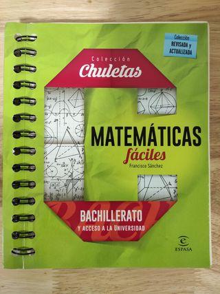 Matemáticas fáciles Bachillerato