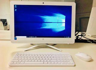 HP a estrenar con teclado y mouse inhalambric
