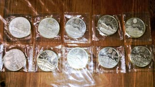 Monedas conmemorativas plata ( 10 ).