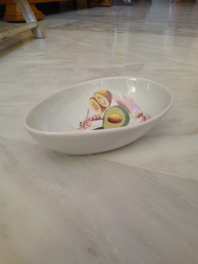 6 cuencos de porcelana