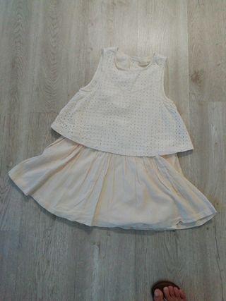 vestido niña Zara 7/8años