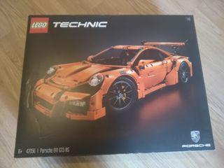 Lego Technic 42056 Porsche 911 GT3 RS sin montar