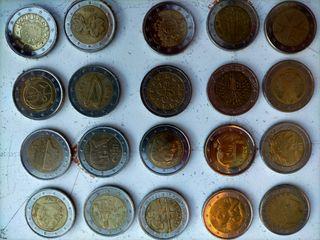 Monedas de 2€, precio negociable.