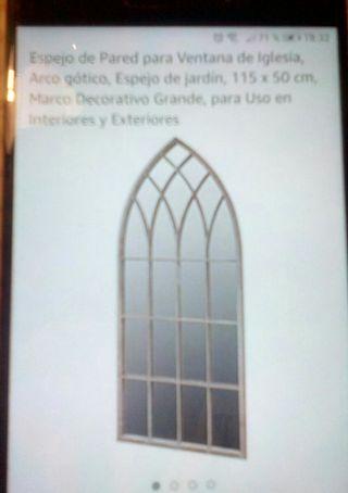 espejo pared tipo ventana
