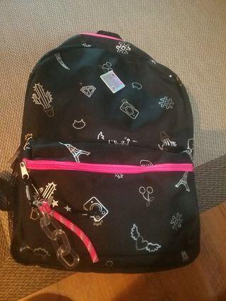 mochila escolar grande nueva