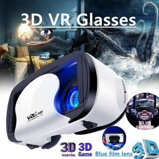 VR Glasses With 120° Wide-Angle Lens