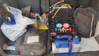 Instalador de aires acondicionados
