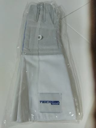 Guante de esgrima, marca tecrima, talla 8