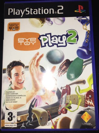 Juego Play 2 EYE TOY para Play Station 2.