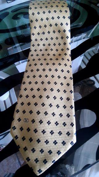 Corbata de seda Valentino