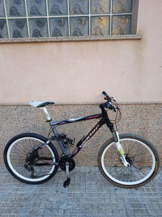Bicicleta de montaña Doblé amortiguador