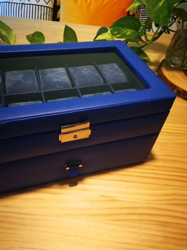 caja para relojes o pulseras