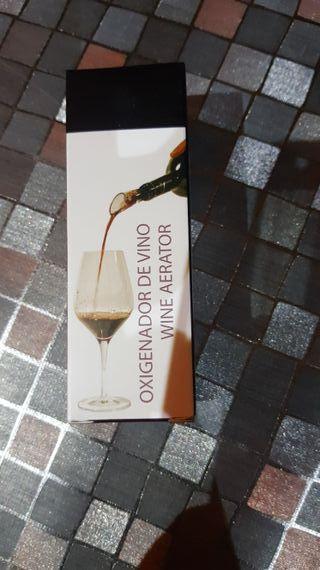 oxigenador de vino nuevo