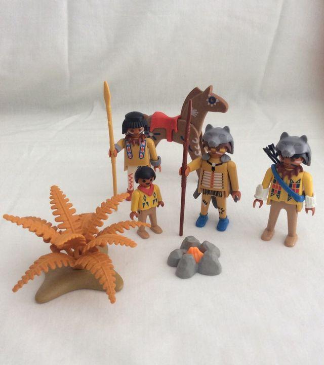 Tribu india, Playmobil