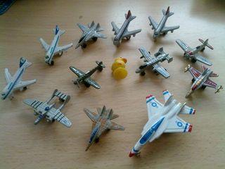 Lote micro aviones Panini