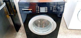 Lavadora Bosch 7kg negra