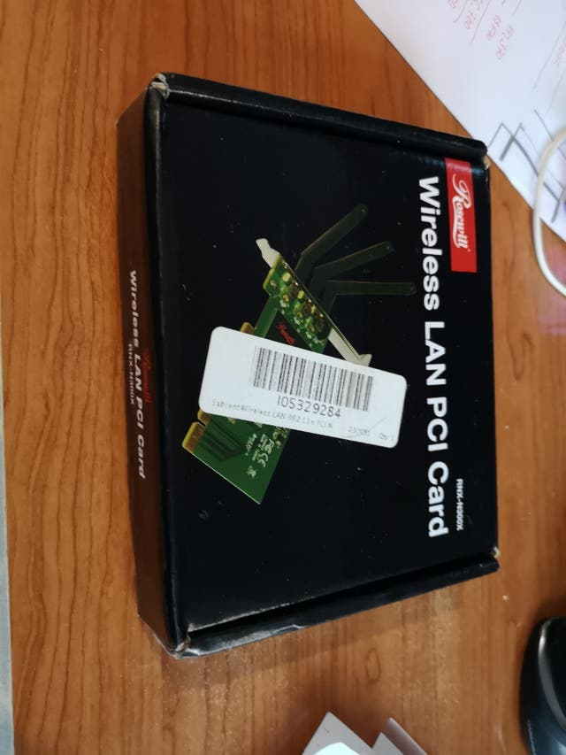tarjeta wireless Lan pci card