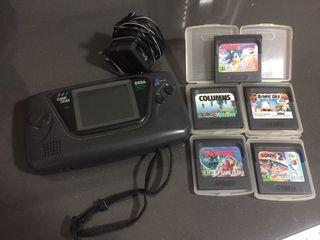 Game gear sin funcionar + 5 juegos