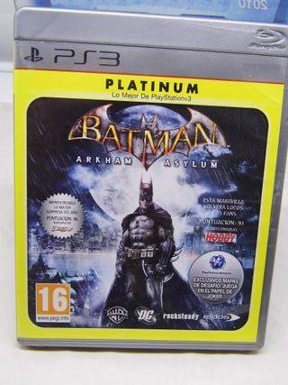 Batman Arkham Asylum PS3 Nuevo