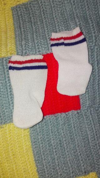 Antiguos calcetines tenis de Nancy,Famosa