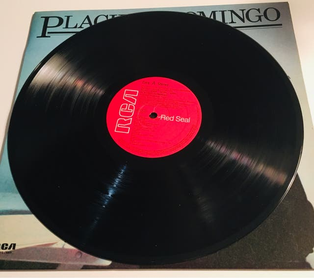 PLACIDO DOMINGO Disco Vinilo Lp