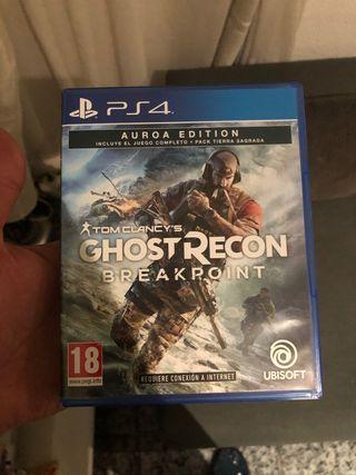 Ghost recon camvio por days gone