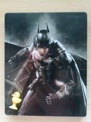Caja metalica Batman Arkham Knight PS4