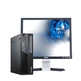 "Ordenador Lenovo + Monitor Dell 17"""