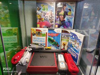 infortelex.com Ninten Wii Mini Roja + Juegos