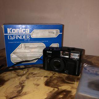 Cámara Konica Dr.Finder efp-30 (35mm)