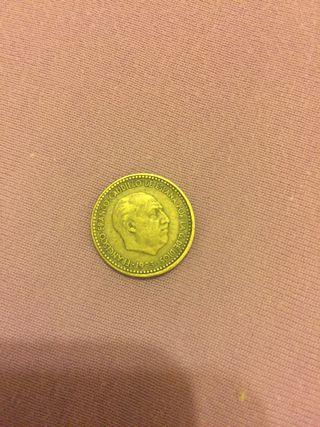 "Vendo Moneda peseta ""Rubia"" 1953"