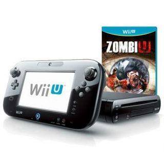 Consola Wii u Negra + Zombie u