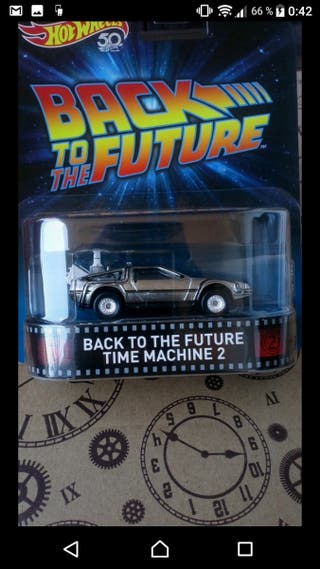 Back to the future. time machine 2 Hot wheels
