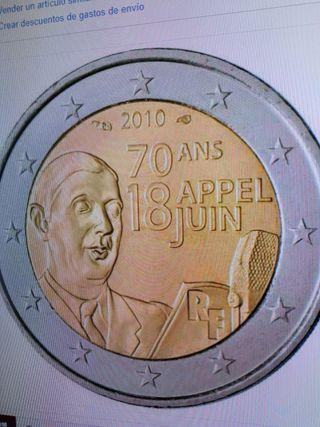 Moneda de 2 euros año 2010