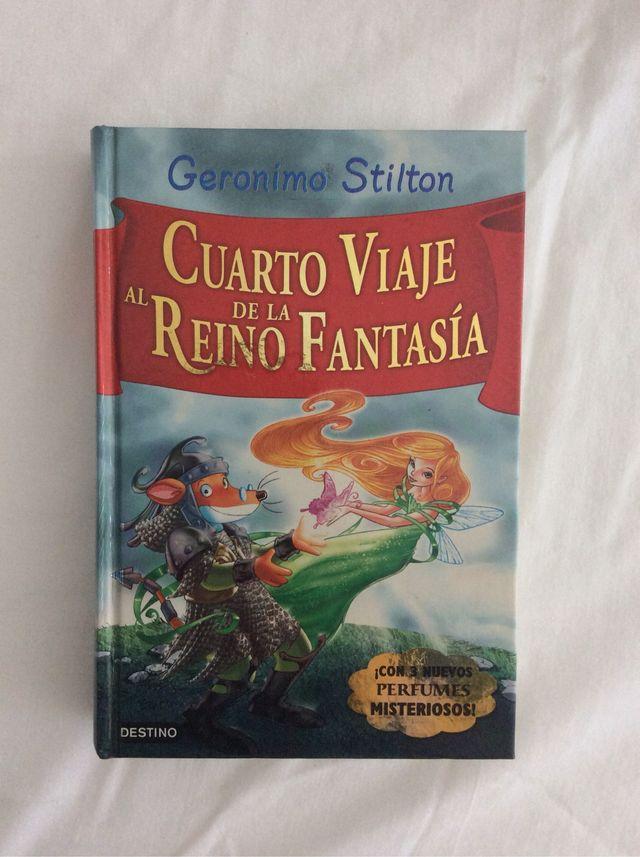 Libros Reino de la Fantasía, de Geronimo Stilton