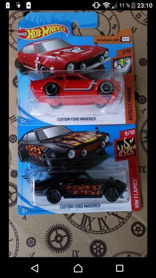 Lote Custom Ford Maverick Hot wheels