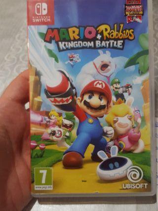 Mario +Rabbitds kingdom battle