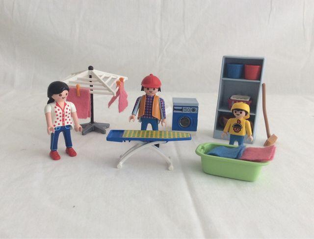 Lavandería, Playmobil