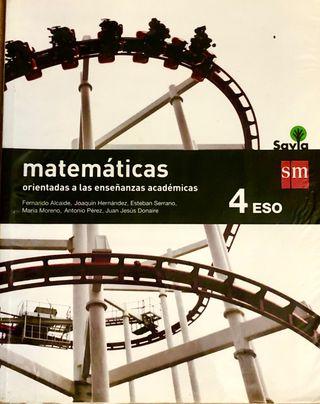 Matematicas academicas 4 Eso Sm